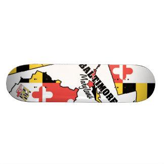 4ten: Baltimore, Maryland 1 Skateboard