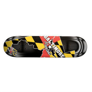 4ten: Baltimore, Maryland 2 Skateboard