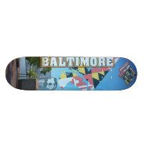 4ten: Baltimore Sky Skateboard Deck