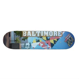 """4ten: Cielo de Baltimore Patineta 8 1/2"""""""
