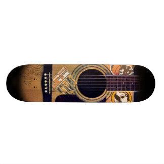 4ten: Guitarra de Bmore (blanco de Rob) Monopatín Personalizado