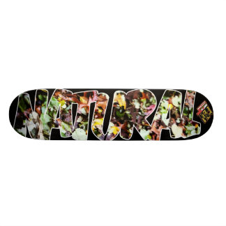 4ten: Natural (leaves) Skateboard