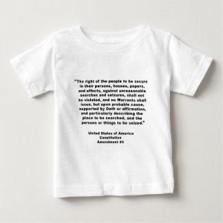 4th Amendment on Tshirts, Keychains, Mugs Baby T-Shirt