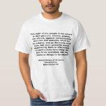 4th Amendment on Tshirts, Keychains, Mugs T-Shirt