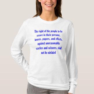 4th Amendment/TSA Shirt
