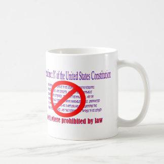 4th Amendment - Void where prohibited by law Classic White Coffee Mug