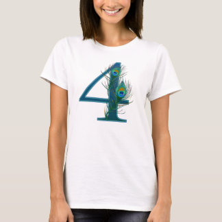 4th anniversary / 4 / 4th / number 4 T-Shirt