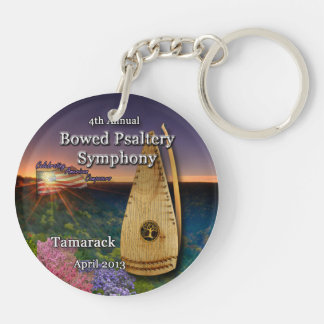 4th Annual Bowed Psaltery Symphony Key Chain