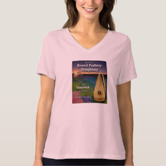 4th Annual Bowed Psaltery Symphony Ladies Shirt