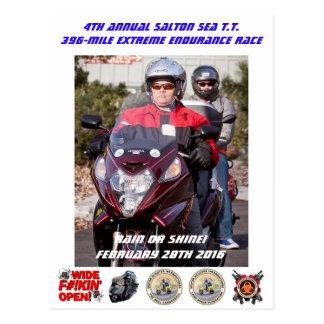 4th Annual Salton Sea T.T. Postcard