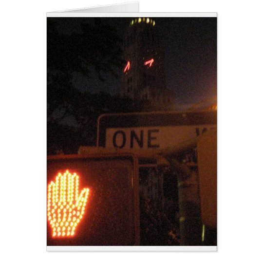 4th Ave. Night Card