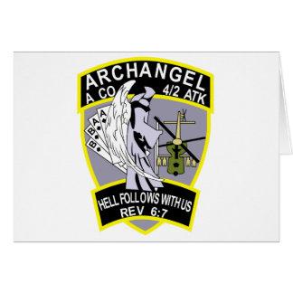 4th Battalion 2nd Attack Aviation Regiment Air Cav Greeting Card