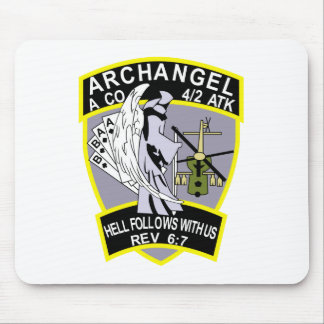 4th Battalion 2nd Attack Aviation Regiment Air Cav Mouse Pad