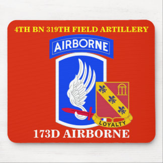 4TH BATTALION 319TH FIELD ARTILLERY MOUSEPAD