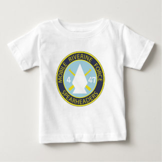 4th Battalion 47th Infantry Riverine Infan Baby T-Shirt