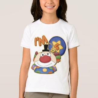 4th Birthday Clown Birthday T-Shirt
