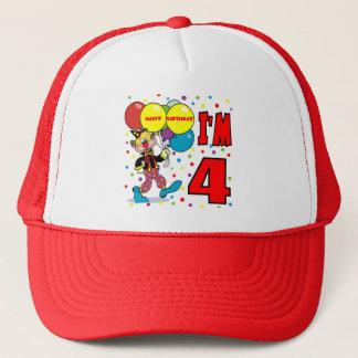4th Birthday Clown Birthday Trucker Hat