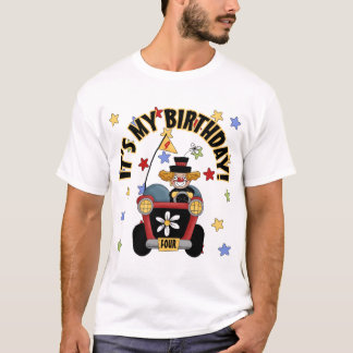 4th Birthday Clown T-Shirt
