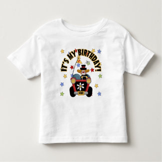 4th Birthday Clown Toddler T-shirt