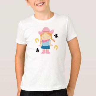 4th Birthday Cowgirl T-Shirt