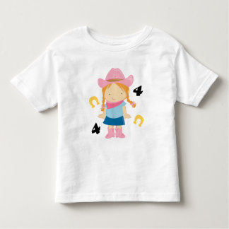 4th Birthday Cowgirl Toddler T-shirt