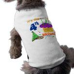 4th Birthday Doggie Tshirt