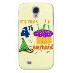 4th Birthday Galaxy S4 Covers