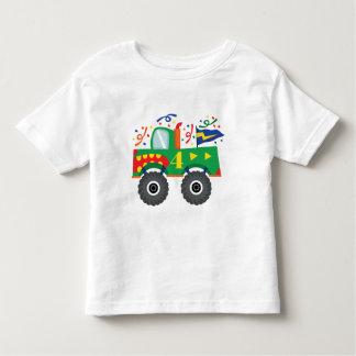 4th Birthday Gift Ideas Toddler T-shirt