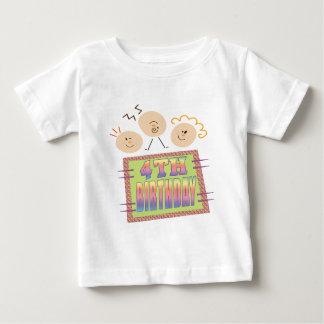 4th Birthday Gifts Baby T-Shirt