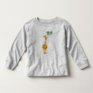 4th Birthday Giraffe Toddler T-shirt