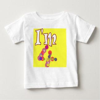4th birthday I'm 4 kids t-shirt