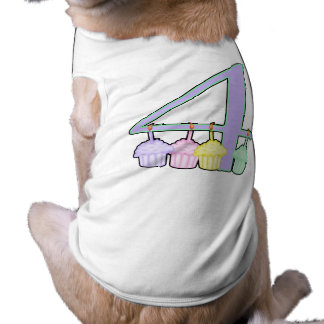 4th Birthday Pet Shirt