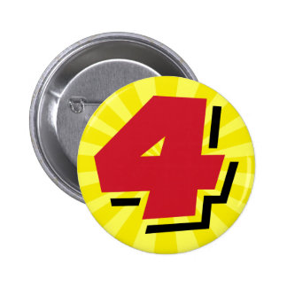 4th birthday super hero party theme and gifts button