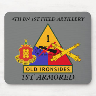 4TH BN 1ST FIELD ARTILLERY 1ST ARMORED MOUSEPAD