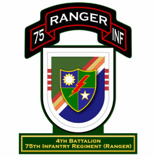4th Bn, 75th Infantry Regiment - Rangers Statuette