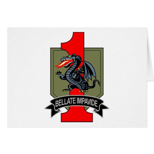 4th Brigade Greeting Card