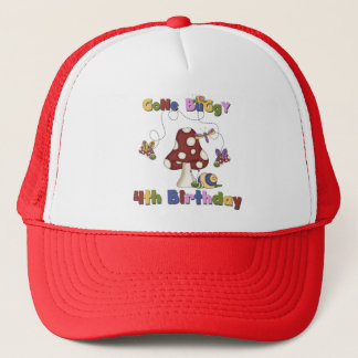 4th Bug Birthday Tshirts and Gifts Trucker Hat
