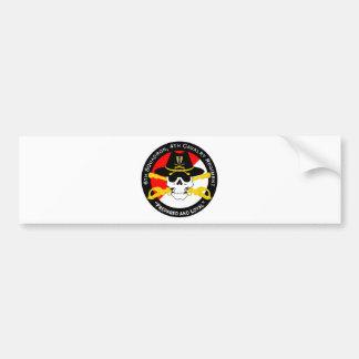 4th Cavalry Regiment-6th Squadron-Insignia Patch Car Bumper Sticker