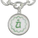 4th Chakra Charm Bracelets