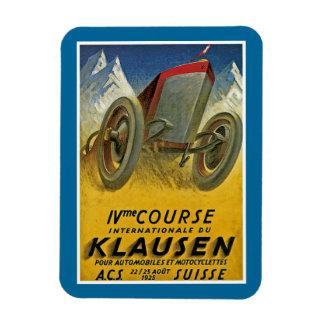 4th Course Internationale du Klausen Rectangular Photo Magnet