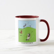 4th Day of Christmas (Four Calling Birds) Mug