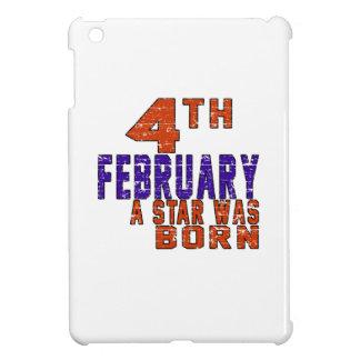 4th February a star was born iPad Mini Covers