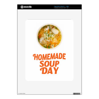 4th February - Homemade Soup Day Skins For iPad
