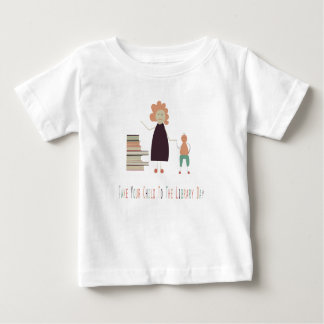 4th February - Take Your Child To The Library Day Baby T-Shirt