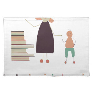 4th February - Take Your Child To The Library Day Cloth Placemat