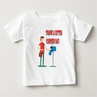 4th February - Thank A Letter Carrier Day Baby T-Shirt