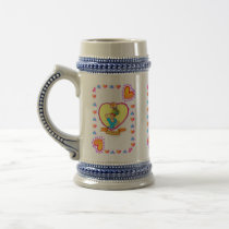 4th Fruit Anniversary Wedding Anniversay M Beer Stein