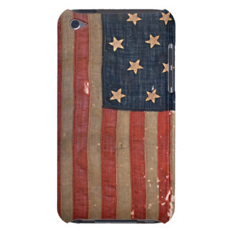 4th Gen Civil War union Flag Distressed Barely There iPod Cover