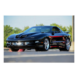 4th Gen Trans Am WS6 poster