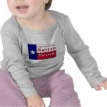 4th Generation Native Texan Flag T-shirts